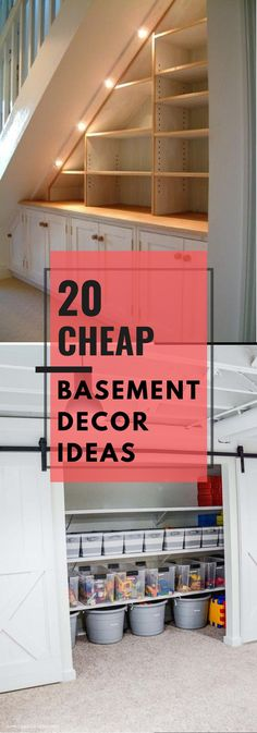 Basement Decor ! Tips For Styling Your Dream Basement #basementdesign #basement Basement Decorating, Basement Remodeling, Basement Ideas, Decoration, Home Projects, Diy Home Decor, Home Improvement, Garage Doors, Sweet Home