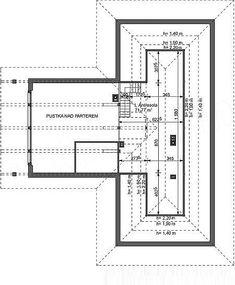Projekt domu Lemko Termo 187,63 m2 - koszt budowy - EXTRADOM Village House Design, Village Houses, House Plans Mansion, Exterior, Home Technology, Planer, My House, Architecture Design, New Homes