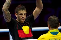 Australian Boxer May be Punished for Wearing Aboriginal Flag at Olympics