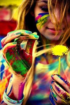 Pluk de dag met kleur