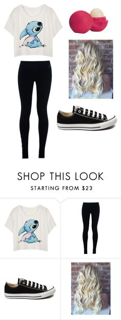 """""""Lilo and Stich"""" by fashionista-dxliv on Polyvore featuring NIKE, Converse, Eos, women's clothing, women, female, woman, misses and juniors"""