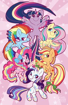 Rainbow Power! by Pixel-Prism.deviantart.com on @deviantART