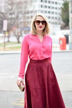 Pink & Burgundy