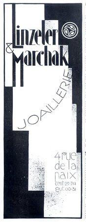 Marchak - Publicité Vintage - Linzeler & Marchak - 1926