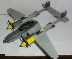 P-38 Lightning: A LEGO® creation by Ace Creations : MOCpages.com