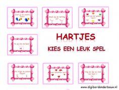 Digibordles Valentijn: 7 verschillende spelletjes http://digibordonderbouw.nl/index.php/themas/val/valentijn
