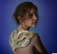 Surreal Hyperrealistic Paintings Turn Human Bodies Into Decorative Art - http://www.77evenbusiness.com/surreal-hyperrealistic-paintings-turn-human-bodies-into-decorative-art/