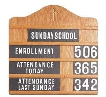 Why do we need Sunday School?
