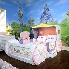 Enchanting Princess Carriage Bed