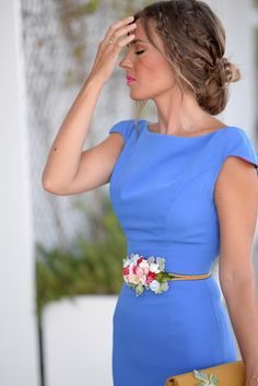 Fashionable Hairstyle Ideas For Summer Wedding Guest Party Dresses For Women, Prom Dresses, Wedding Dresses, V Neck Wedding Dress, Wedding Attire, Summer Wedding Guests, Black Cocktail Dress, Embellished Dress, The Dress