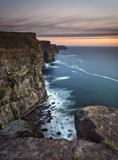 Cliffs Of Moher Twilight - Co Clare, Ireland