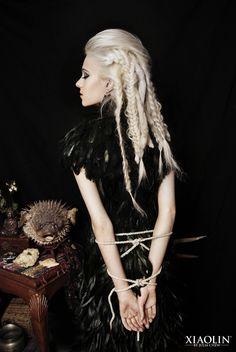 Photo, Hair/MUA: Julia Chew  Model: Alex Bouchard  Wardrobe: Xiaolin xiaolindesign.com