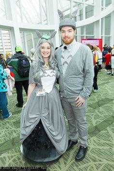 Totoro couple cosplay