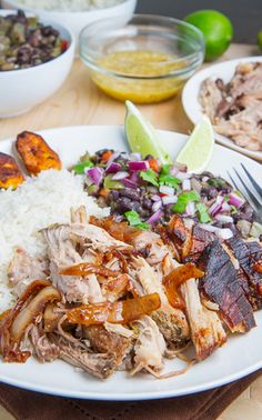 Cuban Roast Pork (Lechon Asado) Recipe- not sure if the orange juice would be on plan, but could always use some other kind of liquid