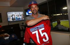 Patrick Dempsey supporting the Paris Saint-Germain   #psg