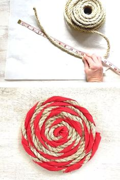 We love dollar tree decorating ideas. 13 easy dollar store rope home decor ideas on a budget. Easy decorating ideas for cheap for living room, bedroom, dining room and more.