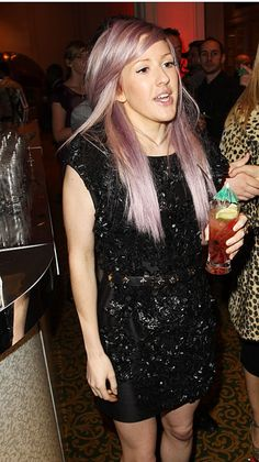 Lilac hair love her and i always want her hair. and especially now that shes got my dream color