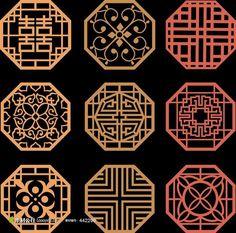 中式花纹图案