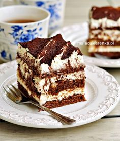Sweet Recipes, Cake Recipes, Dessert Recipes, Unique Desserts, Delicious Desserts, Pudding Cake, Polish Recipes, Dessert Bread, Pumpkin Cheesecake