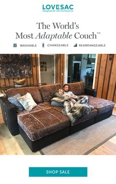 Get a great deal on a couch that can adapt to meet your needs. Today only, when you buy Sactionals, you'll save up to $2500 with FREE Covers! Plus, enjoy 24-month financing.