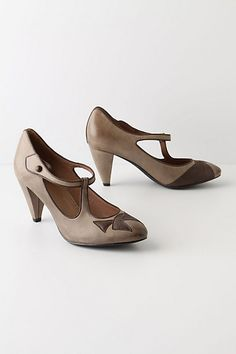 Tied Awry Heels -- Anthropologie