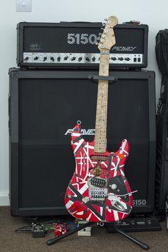 5150 Rear Stripe Pattern | Guitar Ideas in 2019 | Guitar ...