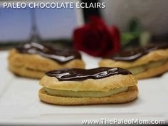 Yes, you read that right. Paleo Chocolate Éclairs. Éclairs were one of my childhood favorite treats. If you aren't familiar with the éclairs, they are pastry cream-filled puff pastries topped with chocolate. Drool! The recipe is at the bottom of this post, but don't scroll too fast! Because first are some other great recipes to …
