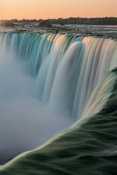 Niagara Falls, Canada. See the unforgettable sight of these thundering waters and be swept away by its awe-inspiring beauty.