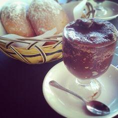 Granita Siciliana with a Brioche for Breakfast in Catania