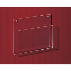 Chart Holders - Clear Acrylic Chart Holder - 21116 by Deluxe