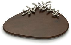 Mikasa Leaf Cheese Board Mikasa, Olives, Trays, Tabletop, Wood Crafts, Art Deco, Dish, Cheese, Sculpture