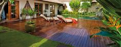 Belmond Jimbaran Puri: Huge One-Bedroom Deluxe Pool Villas have private gardens with gazebos. Can I move in ???