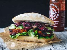 Tutoriel DIY: Le sandwich barbecue vegan via DaWanda.com