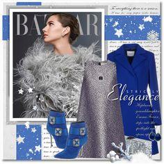 New Year's Eve by petri5 on Polyvore featuring moda, Balenciaga, Blugirl, Manolo Blahnik, Edie Parker, Miriam Salat and Allurez
