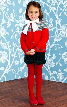 Oscar de la Renta Childrenswear Fall/Winter 2014 Trunkshow Look 14 on Moda Operandi