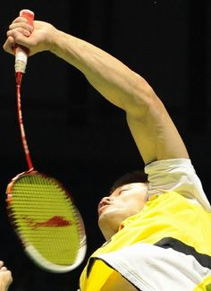 Lin Dan, racket power Wicked cool look at that flex Badminton Photos, Cute Posts, Football And Basketball, Sports Stars, Sport Man, Rackets, Tennis Racket, Handsome, Rion