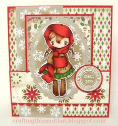 merry christmas by eva91 - Cards and Paper Crafts at Splitcoaststampers