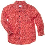 floral button down for the boy