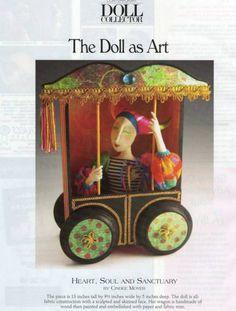 Wymzee Art Friends Showcase: Art Dolls by Cindee Moyer