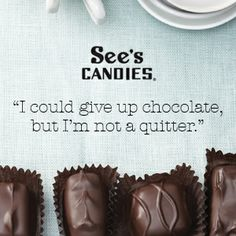 See's Candies official online chocolate shop offering delicious chocolate gifts & candy treats for all occasions. Order a box of your favorites today! See's Candies Chocolate Shop, Chocolate Gifts, See's Candies, Delicious Chocolate, Squares, Sugar, Treats, Candy, Foods