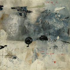 Giuseppe Santomaso (Italian, 1907-1990), Senza titolo, 1960. Oil on canvas, 116 x 116cm.viaartpropelled