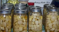 Canning Turnips  NEED TO DO THIS NOW!!