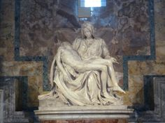 Statue of Mary and Jesus. The Pietà