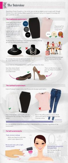Women's Business Attire: The Interview