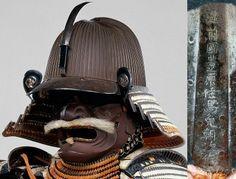 Suji bachi kabuto, signed:Echizan nu Kuni Toyohara Jū Bamen Tomotsugu Saku (Made by Bamen Tomotsugu, residing in Toyohara, Echizen Province [Fukui Prefecture]). Bamen Tomotsugu was the leading armorer of the Bamen School in the eighteenth century.