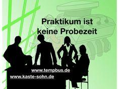 Keine Berufsausbildung ohne Probezeit.  www.tempbus.de