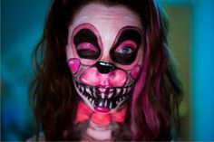 Picture of Mangle Face Paint FNAF