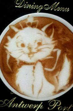 Ariosto-Cat Latte Art