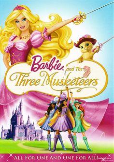 #Barbie #Musketeers