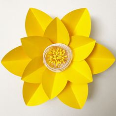 Paper flower template DIGITAL (PDF) version by TheCraftySagAnnie on Etsy
